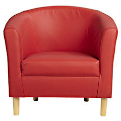 Tub Chair in Red