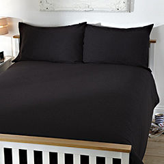 Tu Black Soft Touch Bed Linen Set