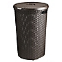 Curver Rattan Style Brown Laundry Hamper