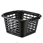 Sainsbury's Basics Black Laundry Basket