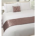 Tu Neutral Embroidered Spot Bed in a Bag - includes Duvet Cover, Pillowcase, Cushion and Runner