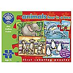 Orchard Toys Animals 4-in-a-box Puzzles