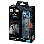 Braun cruZer 6 Beard & Head 3-in-1 Trimmer and Clipper