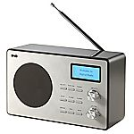 Red E80076 Black DAB Radio