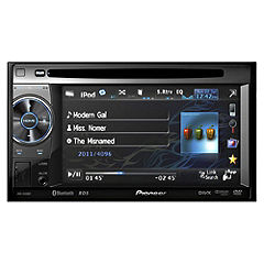 "Pioneer AVH-2400BT Double-Din Bluetooth AV Player with 5.8"" Screen iPod/iPhone"
