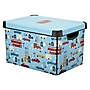 Tu Transport Deco Storage Box with Lid 22L