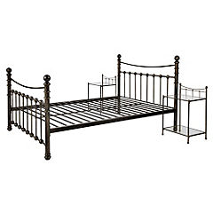 Abigail Double Bedstead with 2 Nightstands