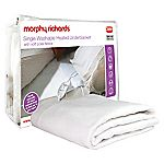 Morphy Richards Single Washable Heated Underblanket with Polar Fleece Top Cover