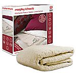Morphy Richards Single Fleece Washable Heated Underblanket