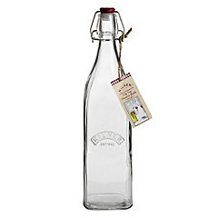Kilner Square Bottle 1L