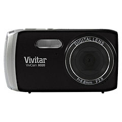 Vivitar X020 10 Megapixel 4x Zoom Black Digital Camera