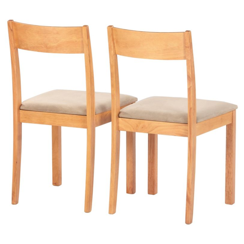 sainsburys cordoba pair of dining chairs just 15 c. Black Bedroom Furniture Sets. Home Design Ideas