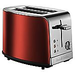 Russell Hobbs 19351 Ruby Red Jewels 2-slice Toaster