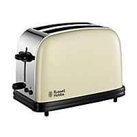 Russell Hobbs 18953 Colours Cream 2-slice Toaster