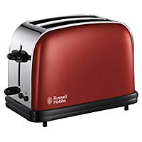 Russell Hobbs 18951 Colours Red 2-slice Toaster