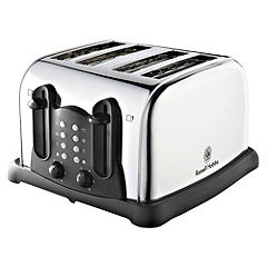 Russell Hobbs 18099 Polished 4-slice Toaster