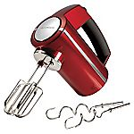 Morphy Richards 48989 Accents Red Hand Mixer