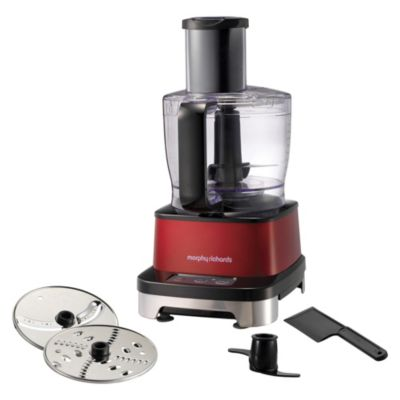 Morphy Richards Accents Induction Red Food Processor - image 1