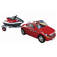 Playmobil Roadster with Jetski