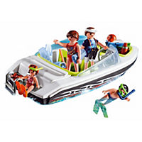 Playmobil Family Speedboat
