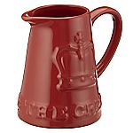 Mason Cash Jubilee Jug Embossed Red