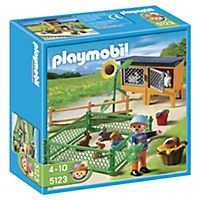 Playmobil Rabbit Pen