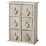 Tu Washed Wood 6-drawer Storage Unit