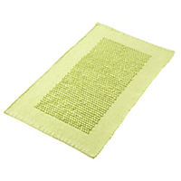 Sainsbury's Apple Chenille Bobble Bath Mat Apple