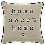 Tu Home Sweet Home Mini Cushion