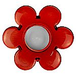 Tu Red Flower Tealight Holder