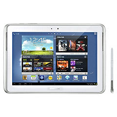 "Samsung Galaxy Note 16gb Wi-fi 10.1"" Pearl White Tablet"