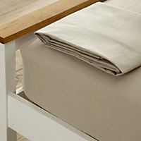 Tu Stone Non-iron Fitted Sheet 2-pack