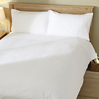 Tu White Seersucker Bed Linen Set