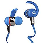 Monster iSport Immersion Blue In-Ear Headphones with ControlTalk Multilingual