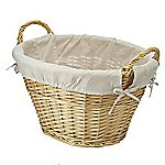 Sainsbury's Country Willow Laundry Basket