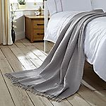 Tu Soft Grey Waffle Throw