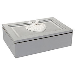 Tu French Grey Jewellery Box