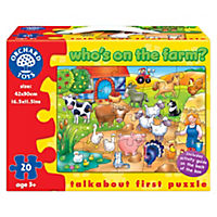 Orchard Toys Who's on the Farm 20-piece Jigsaw Puzzle