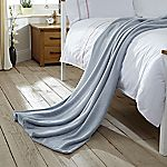 Tu Sky Blue Supersoft Fleece Throw