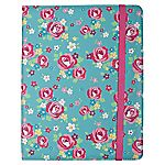 Trendz Floral iPad Case with Stand Function