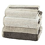 Sainsbury's Stripe Pebble Towel