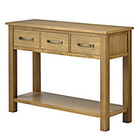 Kensington Oak Console Table