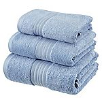 Sainsbury's Cornflower Egyptian Cotton Towel