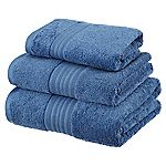 Sainsbury's Denim Egyptian Cotton Towel