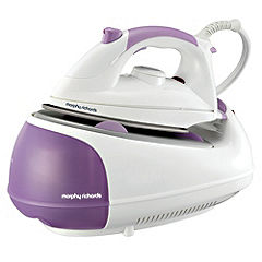 Morphy Richards 42244 Purple Diamond Steam Generator