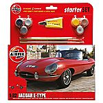 Airfix Jaguar E Type Starter Set