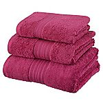 Sainsbury's Cerise Egyptian Cotton Towel