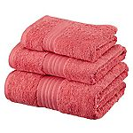 Sainsbury's Coral Egyptian Cotton Towel