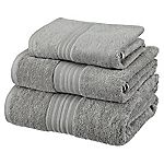 Sainsbury's Smoke Egyptian Cotton Towel