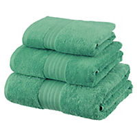 Sainsbury's Jade Egyptian Cotton Towel